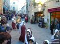 Sagra di Suvereto 2007, cinghiale, arte, cultura e folclore - Molti paesani partecipano ogni anno allo splendido corteo storico in costume