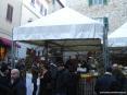 Sagra di Suvereto 2007, cinghiale, arte, cultura e folclore - Uno degli stand gastronomici della sagra in cui assaggiare e comprare prodotti tipici del luogo, tra cui salumi di cinghiale