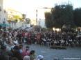 Sagra di Suvereto 2007, cinghiale, arte, cultura e folclore - Tanti spettatori assistono al piacevole spettacolo in costume