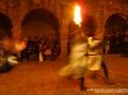 42a Sagra di Suvereto 2009, Suvereto (LI) - I Cavalieri di Ildebrandino si esibiscono in uno spettacolare combattimento ricreando sapientemente un