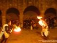 42a Sagra di Suvereto 2009, Suvereto (LI) - I Cavalieri di Ildebrandino combattono con notevole abilità indossando abiti storici e proponendo al pubblico uno spettacolo unico nel suo genere - Foto del 08/12/2009