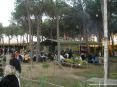 39° Sagra del carciofo 2008 a Riotorto (LI) - La zona dei tavoli. Una volta fatta l