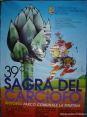 39° Sagra del carciofo 2008 a Riotorto (LI) - Manifesto della sagra.