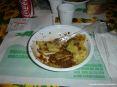 39° Sagra del carciofo 2008 a Riotorto (LI) - Un primo piatto di gustosi tortelli maremmani al sugo di carciofi. Il ripieno è quello classico: ricotta e spinaci.