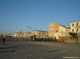 San Vincenzo (LI) - La piazza del porto e il porticciolo sono in fase di ampliamento (ott 2007)