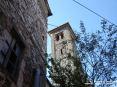 Sassetta (LI) - La cima del campanile della chiesa di Sant
