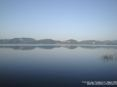 Torre del Lago Puccini, Viareggio (LU) - Panorama del lago di Massaciuccoli verso est. Sullo sfondo la zona del paese di Massaciuccoli - Fotografia maggio 2009
