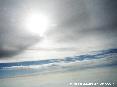 Foto aerea del cielo della Toscana