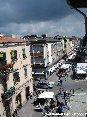 Piombino (LI) - Corso Italia verso piazza Gramsci. Ogni mese per un weekend viene proposto un mercatino