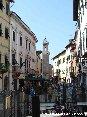 Piombino (LI) - Corso Vittorio Emanuele e la torre dell